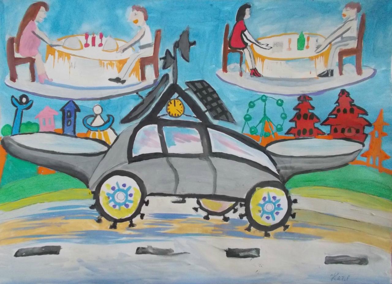 Детский конкурс машины будущего