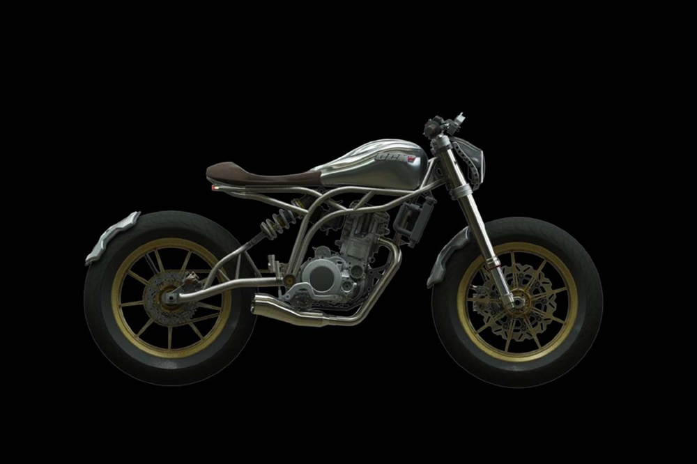 Новый мотоцикл CCM Spitfire 2017