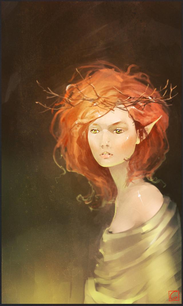 Fantasy Art by Alexandra Khitrova