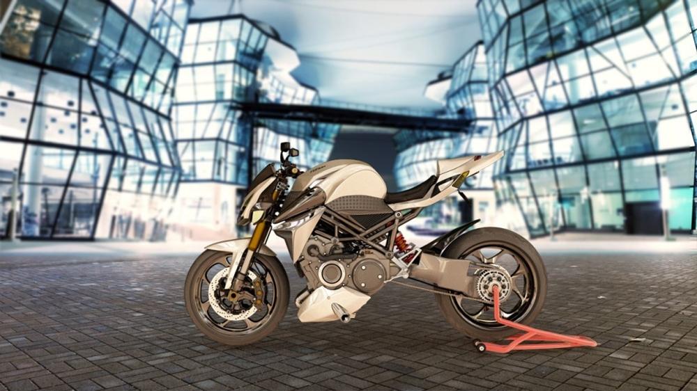 Концепт роторного мотоцикла Furion M1