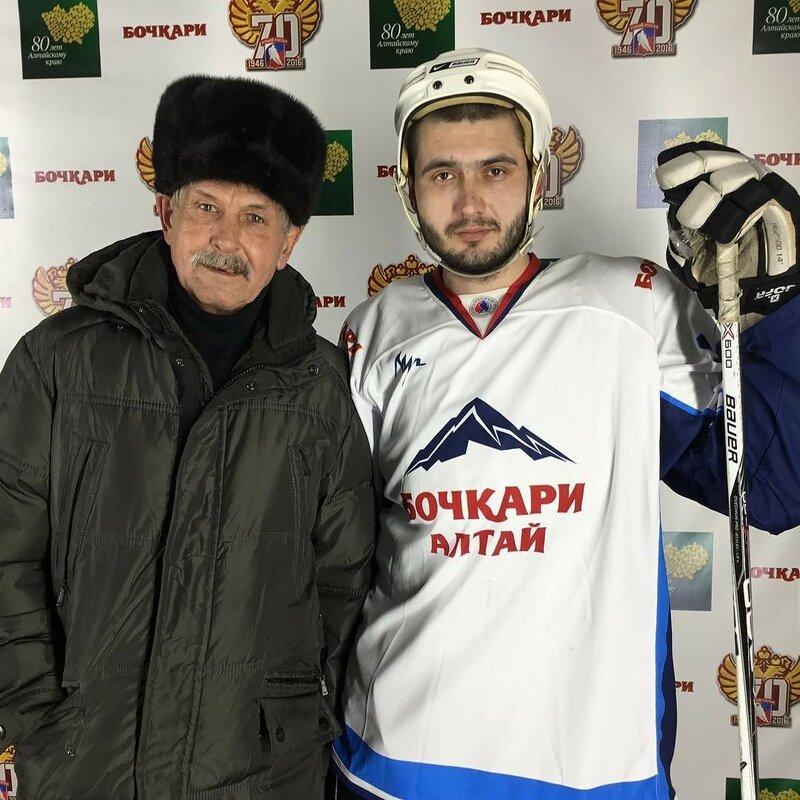 Скоростное фото на Турне звезд хоккея в честь юбилея Алтайского края #БочкариНХЛ