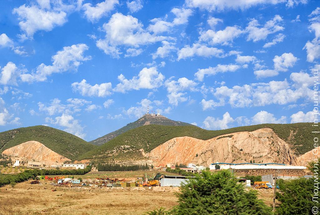 горы в Тунисе