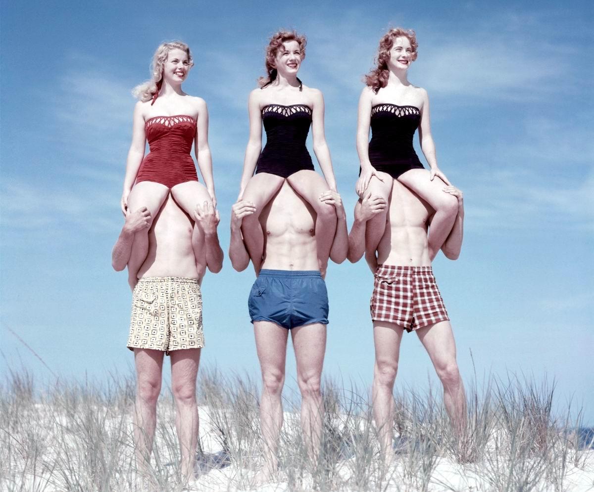 Под голубыми небесами: Прекрасные наездницы и невозмутимые укротительницы мужского пола