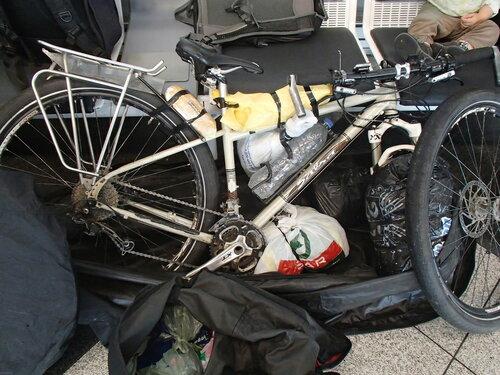 упаковка велосипедов в самолет