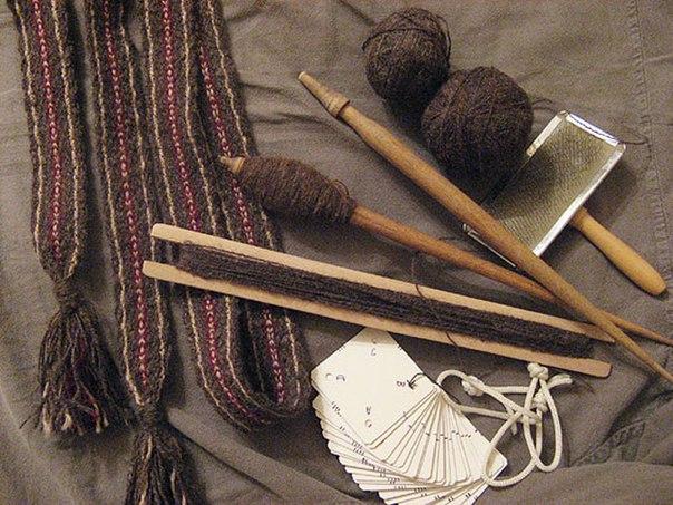 Веретено — славянская волшебная палочка