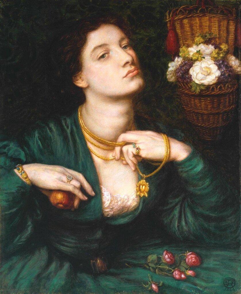 1864_Прекрасная Помона (Monna Pomona)_47.6 х 39.3_бумага, акварель и гуммиарабик_Лондон, музей Тейт.jpg