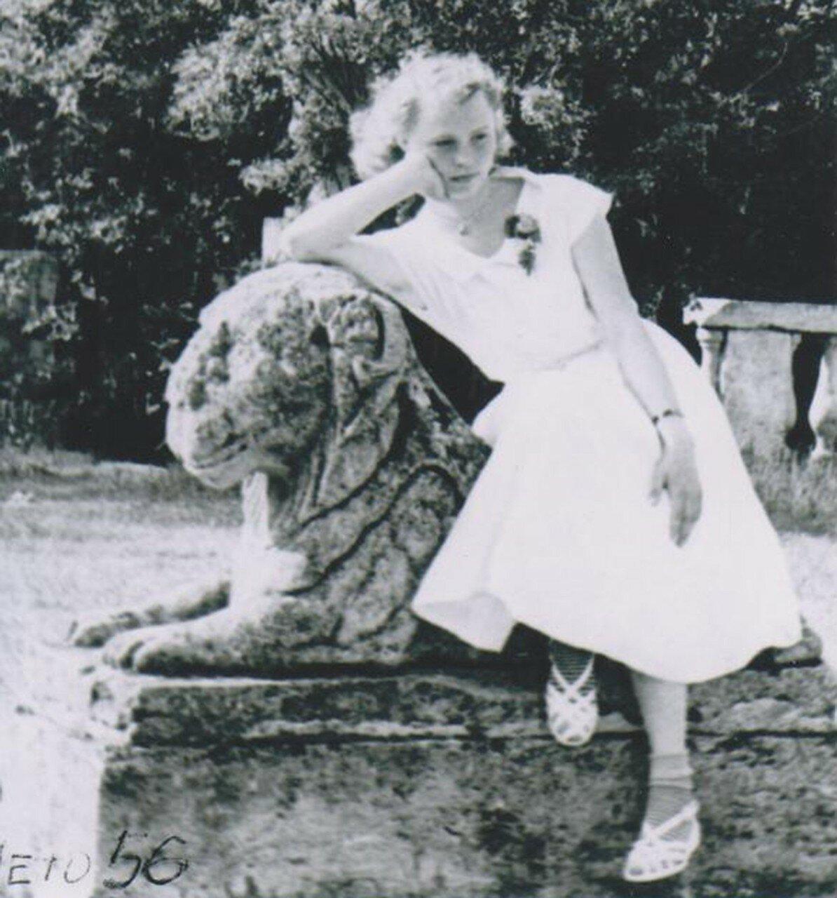 1956. Терраса на Белом озере