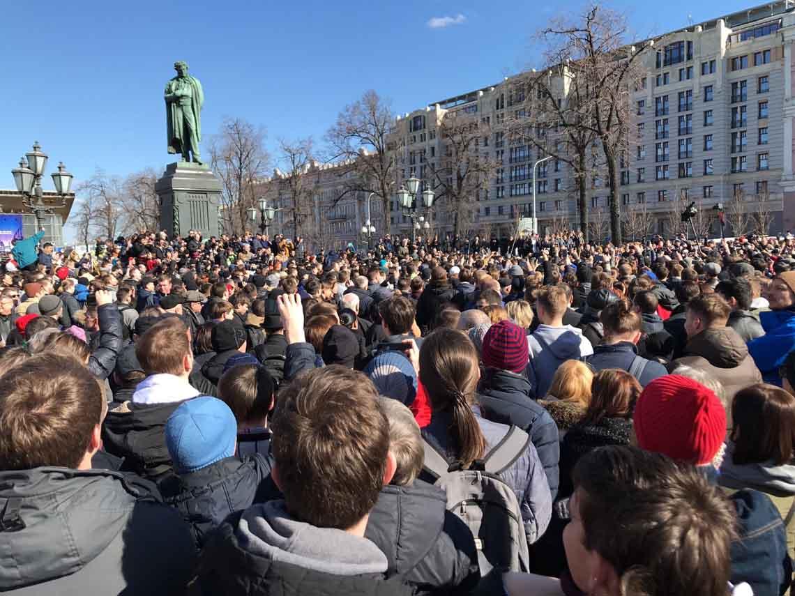 26 марта, 2017, антикоррупционный митинг, (новый пост 2