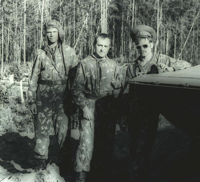 Дретуньский полигон. 1981 г.