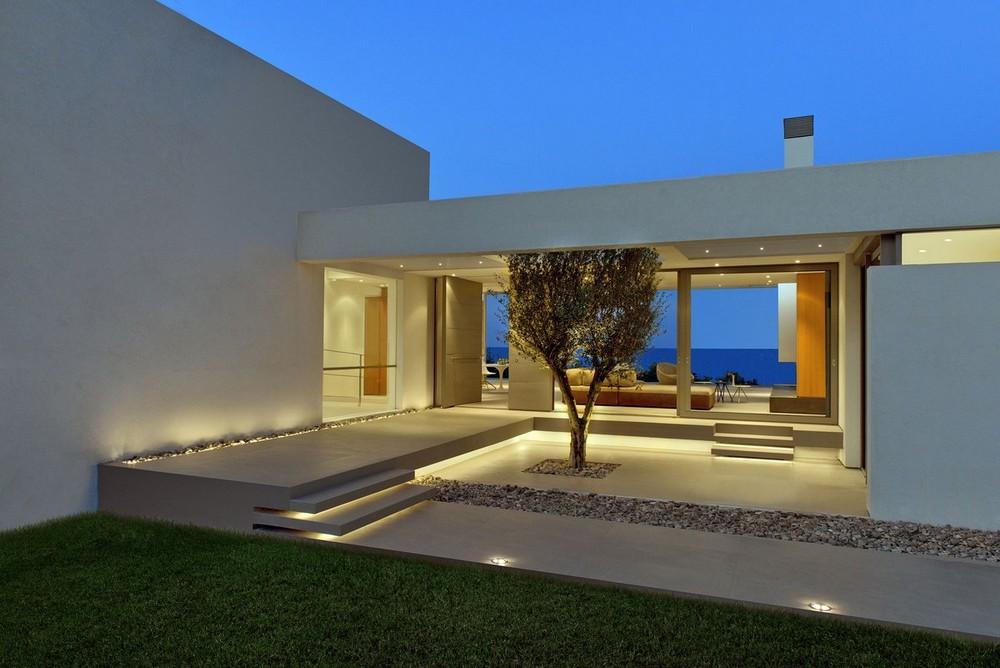 Вилла в Греции с видом на море