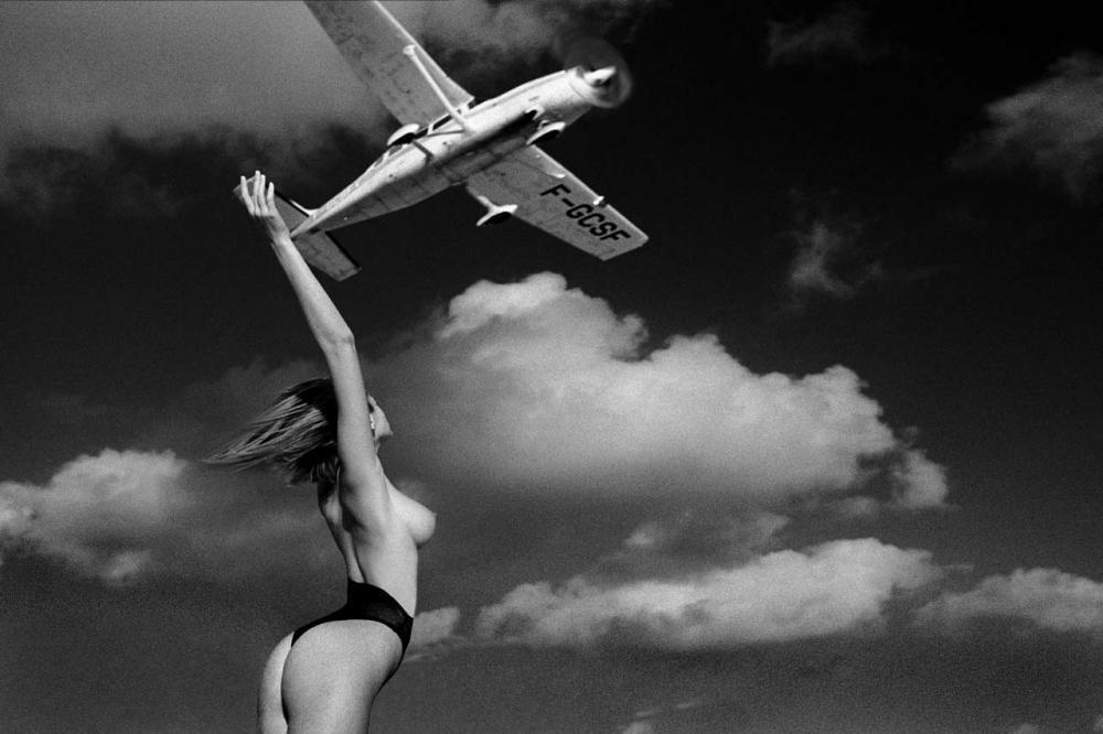 Обнаженные девушки на черно-белых снимках Марко Главиано