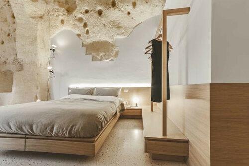 Пещерный отель с роскошным интерьером