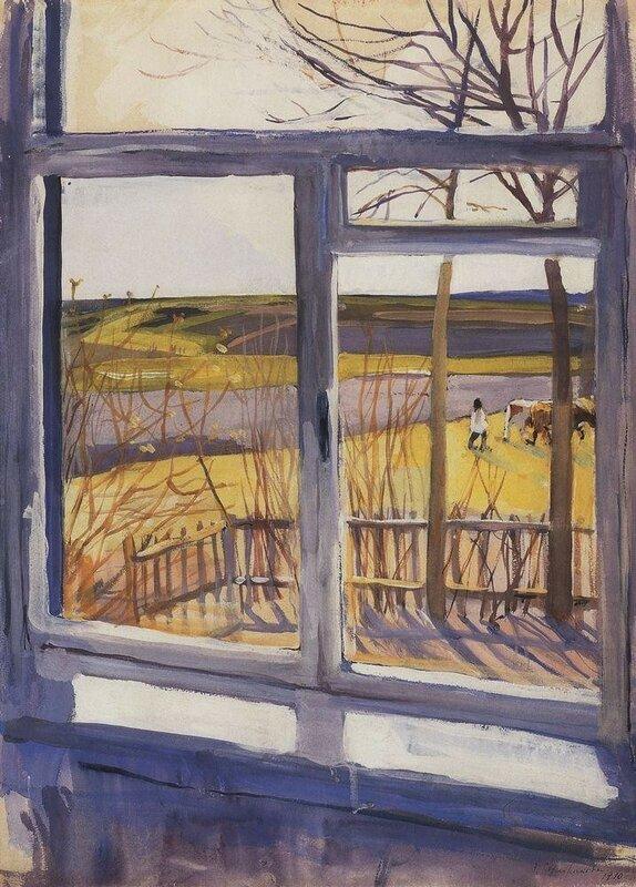Вид из окна. Нескучное. 1910 год