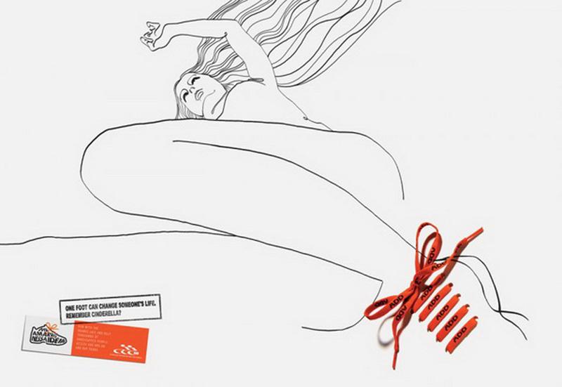 13 самых эротичных и минималистских образцов наружной рекламы (13 фото)