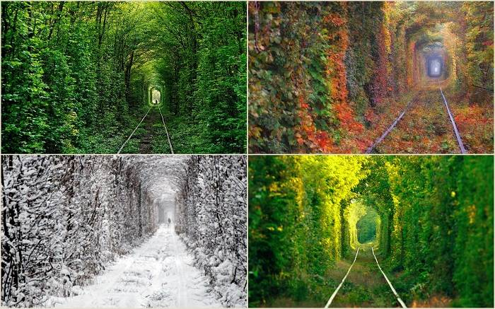 Недалеко от города Клевань, что в Ровенской области, находится одно из самых романтичных мест Украин