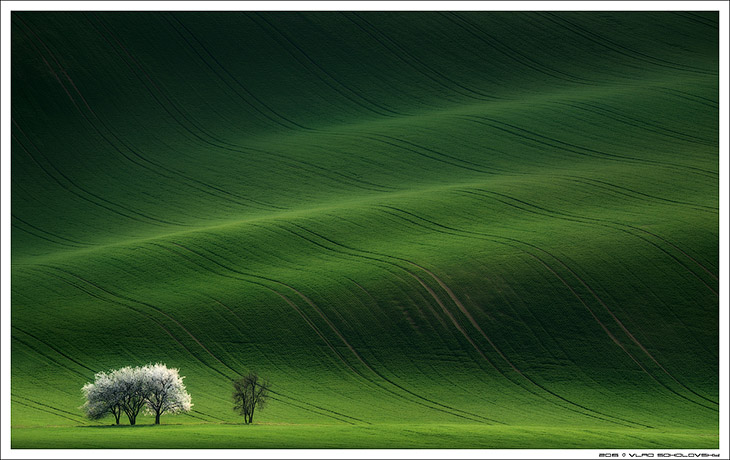 Пейзажи Южной Чехии (36 фото)