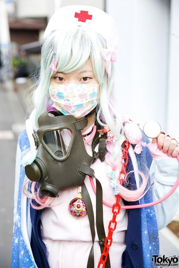 Уличная японская молодежная мода