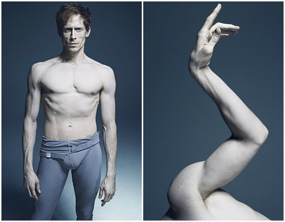 «Чем больше я фотографировал танцоров, тем больше проникался их изяществом и чувством баланса. С год