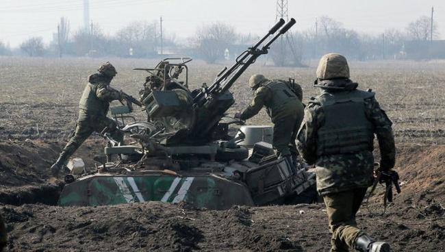 Силовики выпустили около 330 мин иснарядов засутки, сообщили вДНР