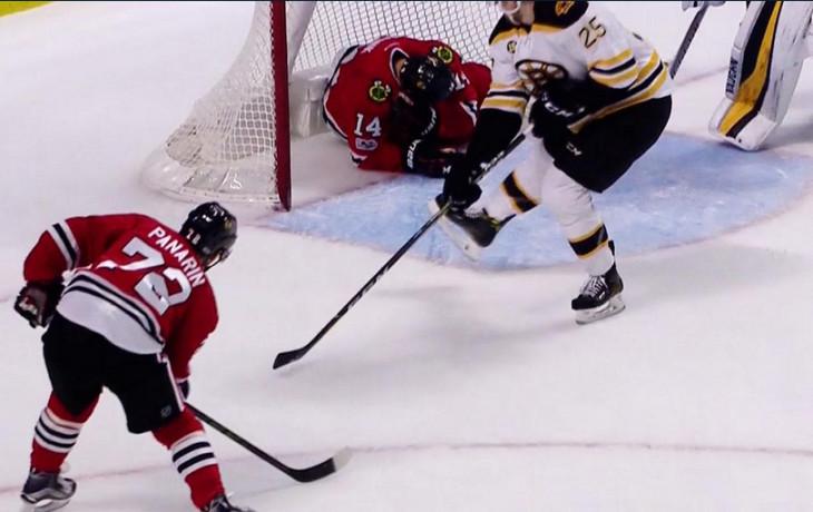 НХЛ: Гол Панарина непомог «Чикаго» обыграть «Бостон»