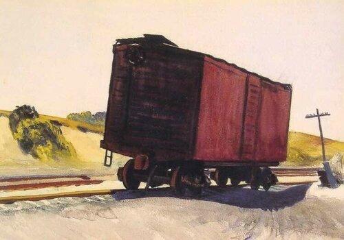 12.1931. Грузовой вагон в Труро.jpg