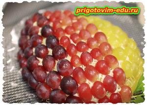 Вкусный салат Тиффани или Виноградная гроздь.