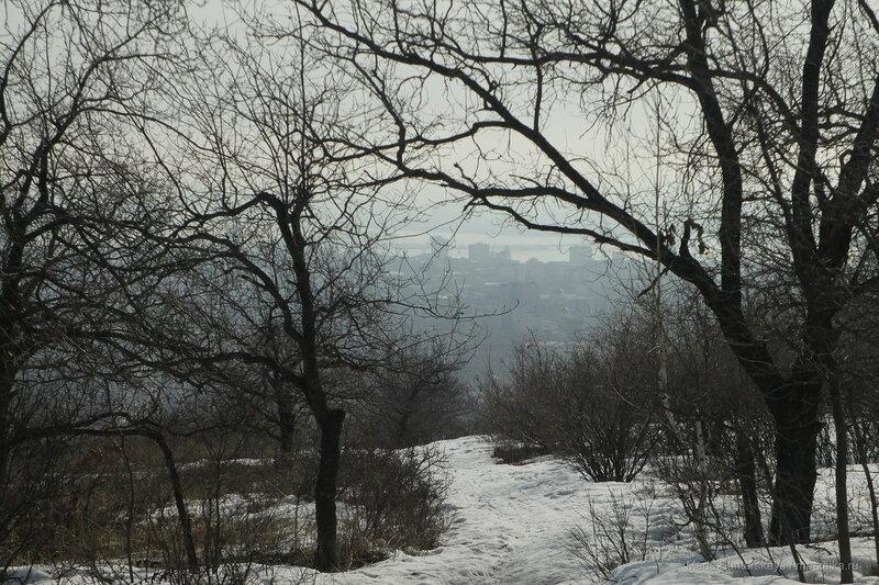 Прогулка по Кумыске, Саратов, 16 марта 2017 года