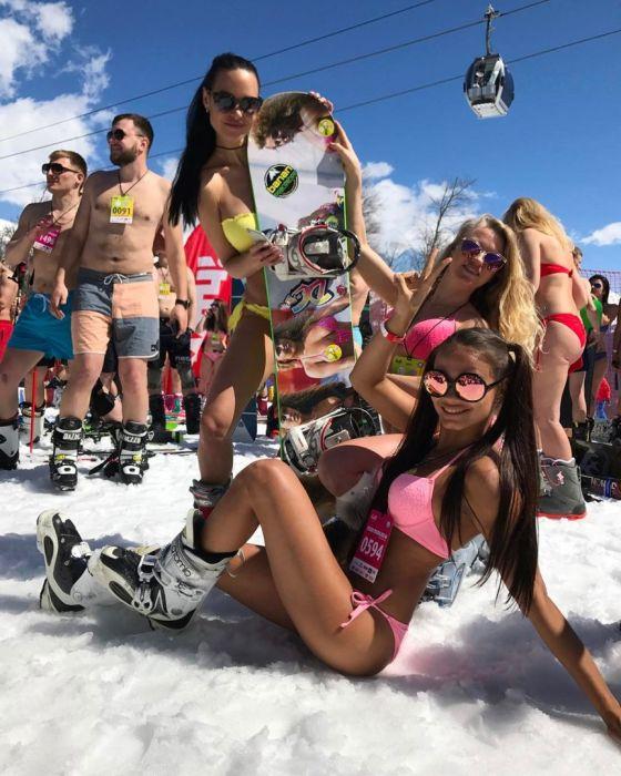 Закрытие горнолыжного сезона в Сочи