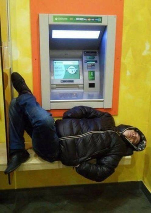 Суровые банкоматы и их пользователи