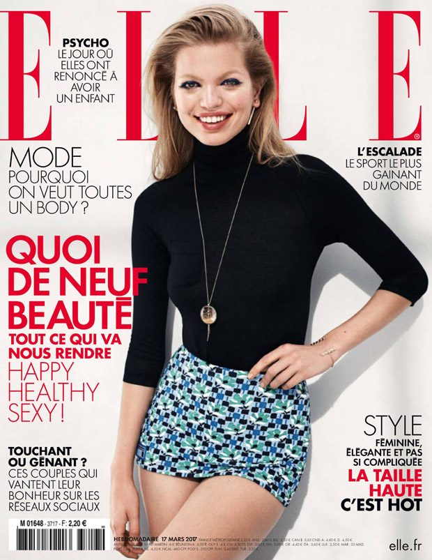 Daphne Groeneveld is the Cover Star of Elle France