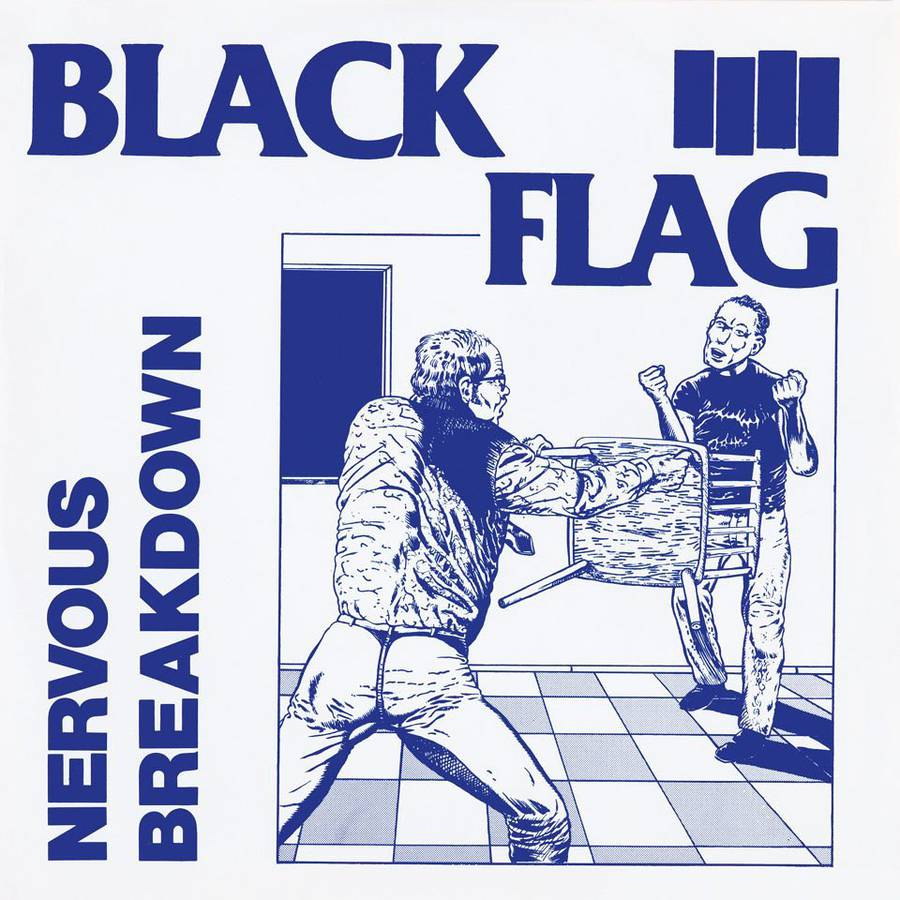 Raymond Pettibon for Black Flag.