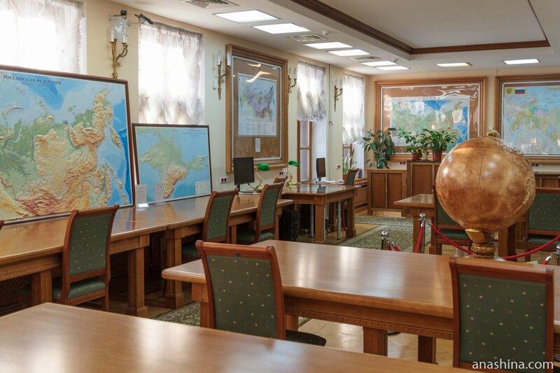 Отдел картографических изданий, дом Пашкова
