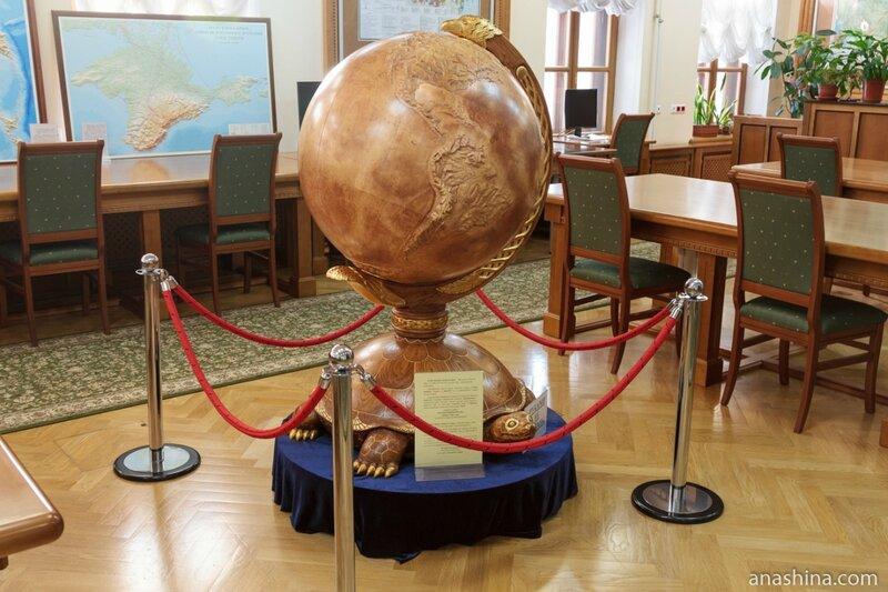 Глобус ацтеков, отдел картографических изданий