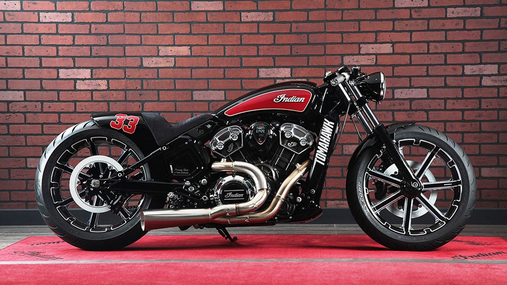 V-Twin Garage: кастом Indian Scout Tomahawk