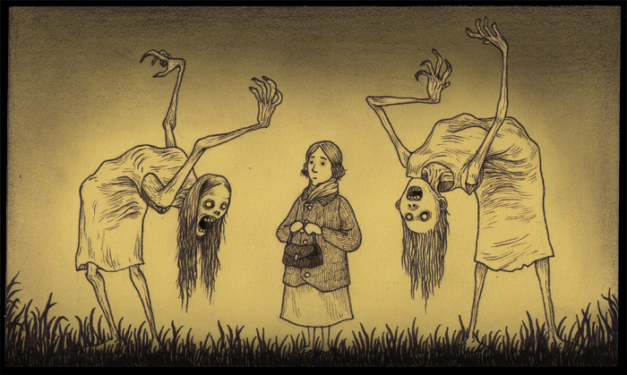 As ilustracoes em Post-it do artista John Kenn