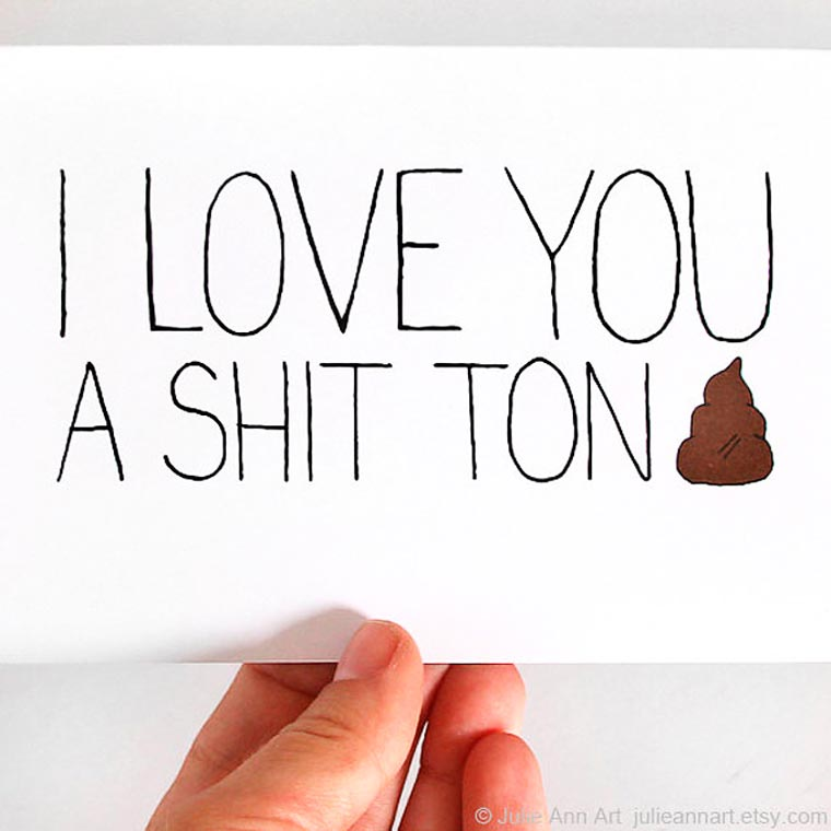 If the Valentine cards were honest
