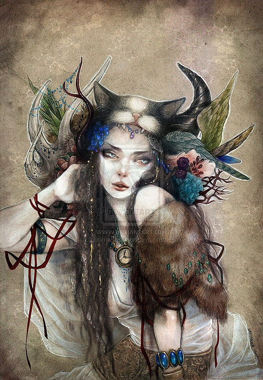Creative Fantasy Illustrations by Juri the Dreamer
