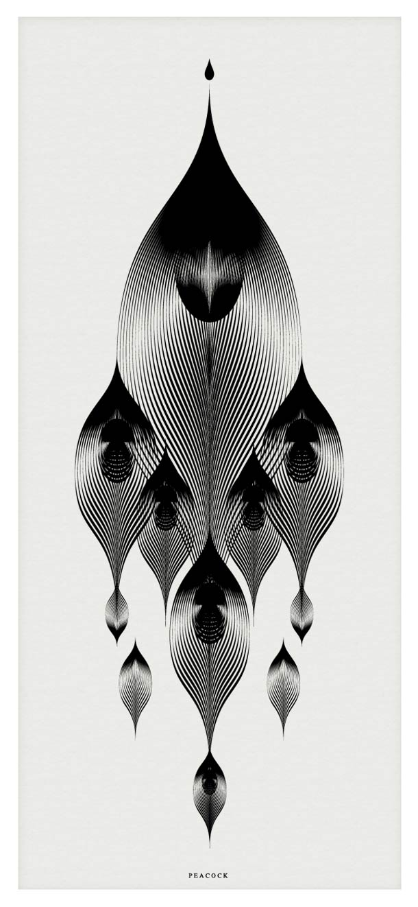 Animals in Moire - Les illustrations d'Andrea Minini