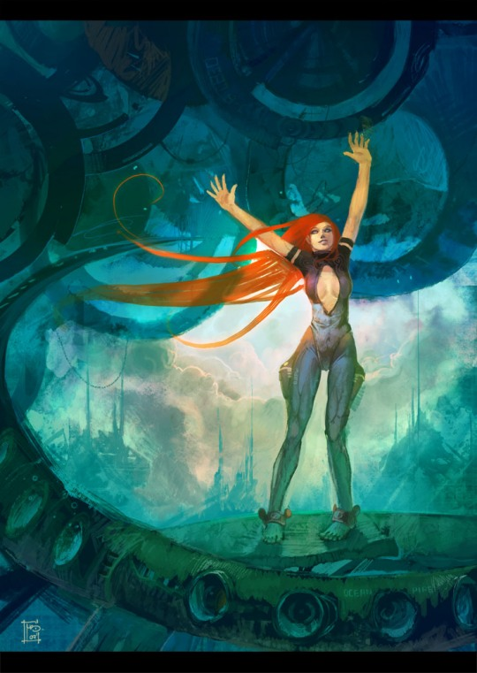 Stunning Character Illustrations by Marc Brunet