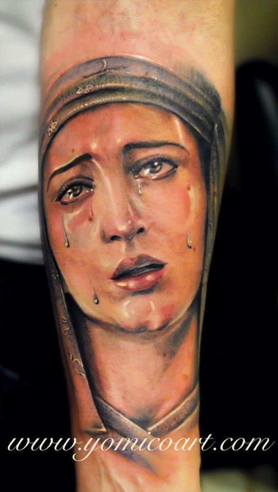 Stunningly Realistic Tattoos by Yomico Moreno