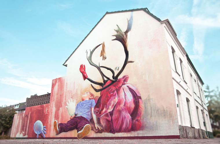 Imagemakers – The street art by Telmo Miel (20 pics)