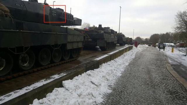 Немецкие танки прибыли в Польшу