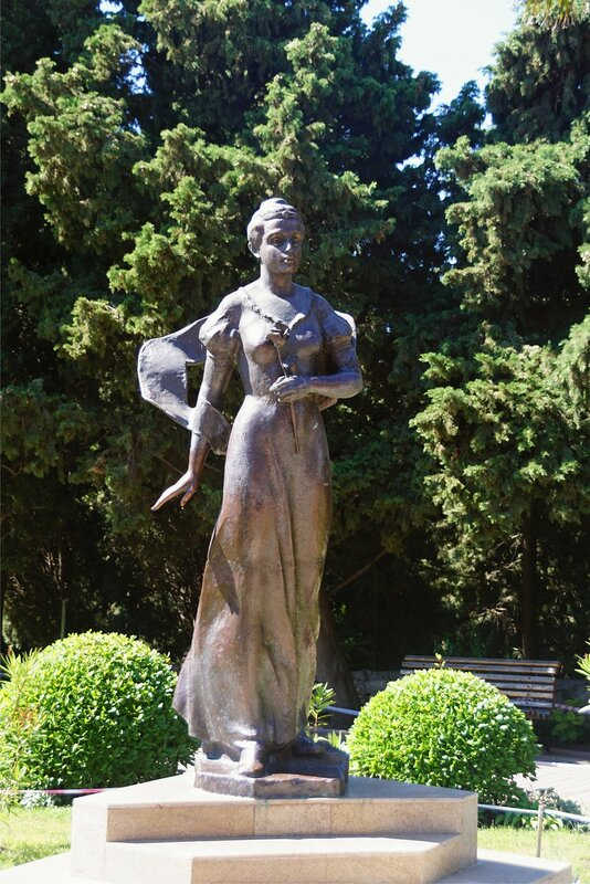 Скульптура княгини Гагариной