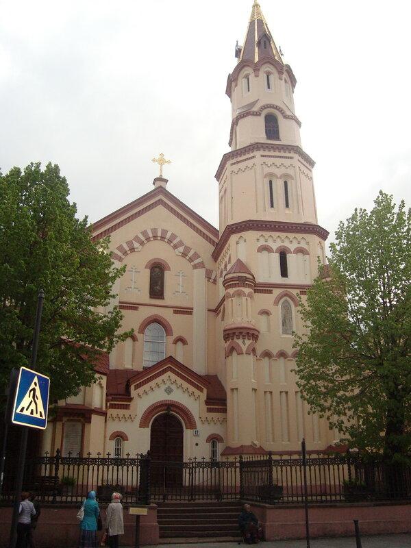 Вильнюс. Церковь святого Николая Чудотворца (1)