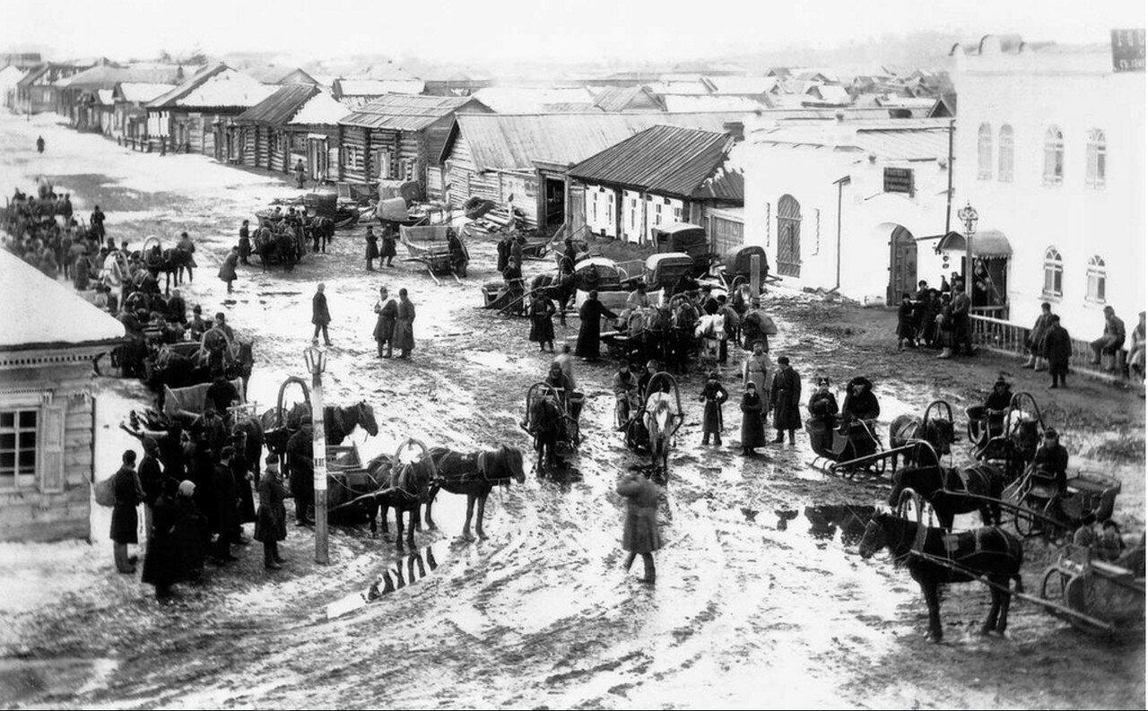 1892 - 1896. Отправка партии рабочих на постройку Сибирской железной дороги