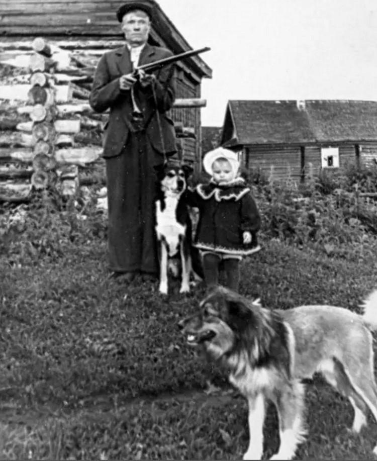 1958. В деревне Шелохачь