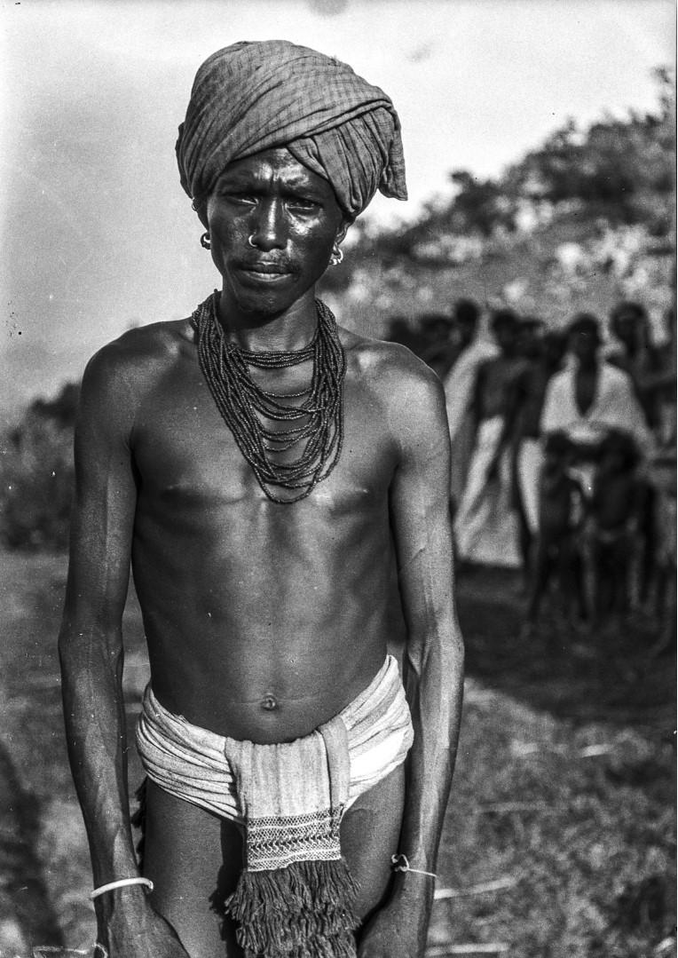 640. Серанго. Мужчина народности соро