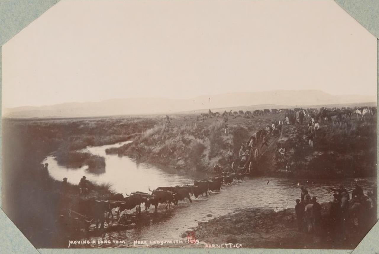 47. Переправа возле города Ледисмит