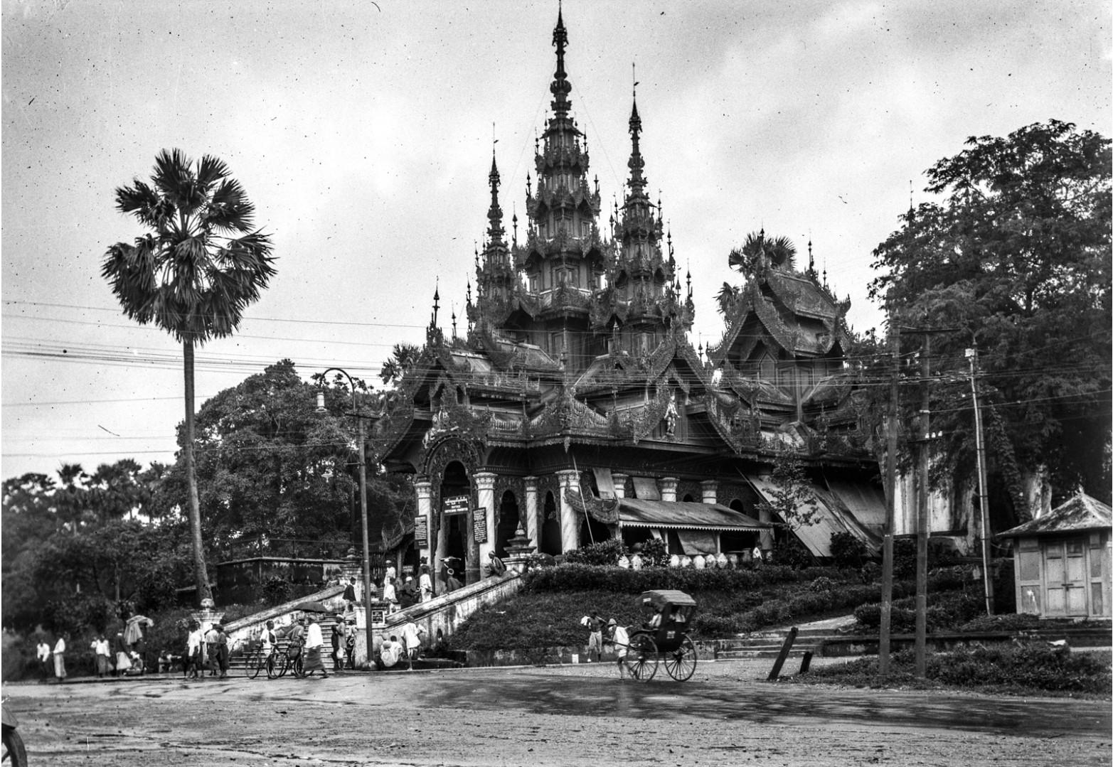 828. Рангун. Пагода Шведагон