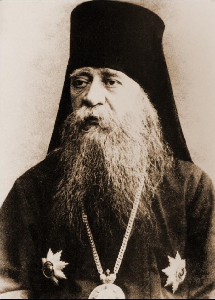 Настоятель Данилова монастыря (1904-1906) епископ Серпуховской Никон (Рождественский)
